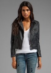 AG Adriano Goldschmied The Biker Motorcycle Jacket at Revolve