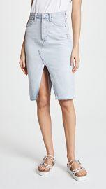 AGOLDE The 90  039 s Split Skirt at Shopbop