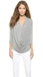 AIR by alice and olivia Draped Slouchy Tee at Shopbop