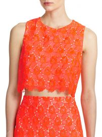 ALC - Adriana Lace Cropped Shell at Saks Fifth Avenue