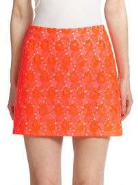 ALC - Merrill Floral-Lace Mini Skirt at Saks Fifth Avenue