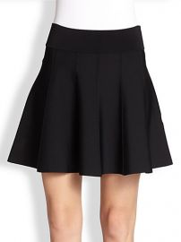 ALC - Piper Flared Knit Skirt at Saks Fifth Avenue