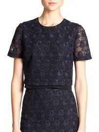 ALC - Thompson Lace Cropped Top at Saks Fifth Avenue