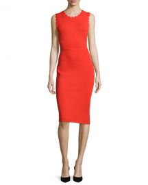 ALC Aldridge Dress in Red at Neiman Marcus
