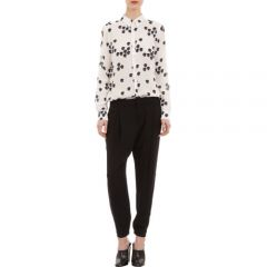 ALC Falling Iris-Print Song Blouse at Barneys