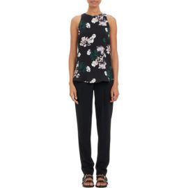 ALC Floral-Print Anise Tank Blouse at Barneys