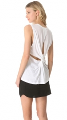 ALC Harper Twistback Tee at Shopbop
