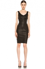ALC Leather Parker Dress at Forward by Elyse Walker