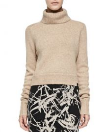 ALC Tevin Cropped Turtleneck Sweater at Neiman Marcus