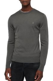 ALLSAINTS Mode Slim Fit Merino Wool Sweater at Nordstrom