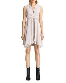 ALLSAINTS Jayda Silk Dress  at Bloomingdales
