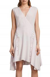 ALLSAINTS Miller Lace-Up Dress at Nordstrom