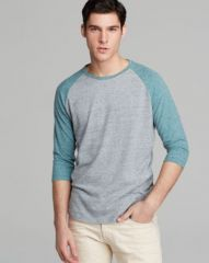 ALTERNATIVE Willoughby Baseball Tee at Bloomingdales