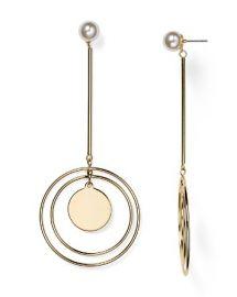 AQUA Aislyn Circle Drop Earring - 100  Bloomingdale  039 s Exclusive at Bloomingdales