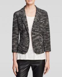 AQUA Blazer - Tweed Knit at Bloomingdales