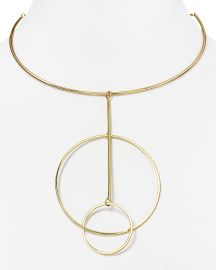 AQUA Cecelia Collar Necklace in Gold at Bloomingdales