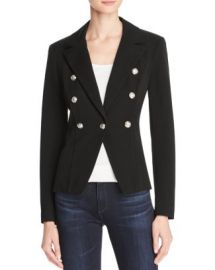 AQUA Crested Button Blazer at Bloomingdales