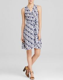 AQUA Dress - Flower Fields Wrap at Bloomingdales