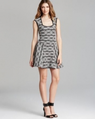 AQUA Dress - Tribal Print at Bloomingdales