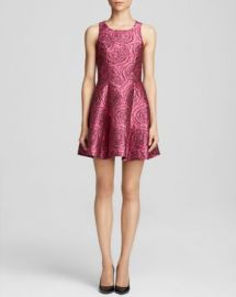 AQUA Glam Rose Brocade Dress - Bloomingdaleand039s Exclusive at Bloomingdales