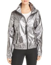 AQUA Metallic Zip-Front Windbreaker - 100  Exclusive  Women - Bloomingdale s at Bloomingdales