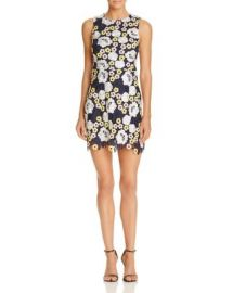 AQUA Multi-Color Lace Dress - 100  Exclusive at Bloomingdales