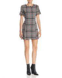 AQUA Plaid Tweed Dress - 100  Exclusive  Women - Bloomingdale s at Bloomingdales
