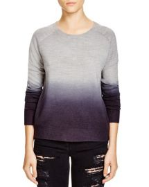 AQUA Raglan Dip Dye Sweater at Bloomingdales