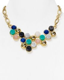 AQUA Rina Bib Necklace 17and034 at Bloomingdales