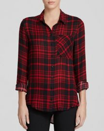 AQUA Shirt - Jordan Plaid at Bloomingdales