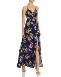 AQUA Tropical Print Maxi Dress - 100  Exclusive  Women - Bloomingdale s at Bloomingdales