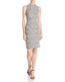 AQUA Tweed Sheath Dress - Essential Pick at Bloomingdales