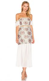 ASILIO Classic Cause Dress in Wild Rose  amp  Whisper White Floral from Revolve com at Revolve