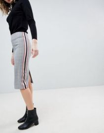 ASOS Tailored Side Stripe Pencil Skirt at asos com at Asos
