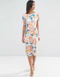 ASOS Wiggle Print in Bright Floral Print at Asos