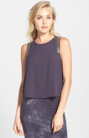 ASTR Embellished Tank at Nordstrom