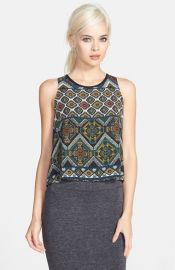 ASTR High Low Print Tank at Nordstrom