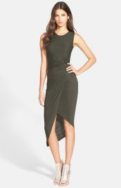 ASTR Knotted Body-Con Dress at Nordstrom