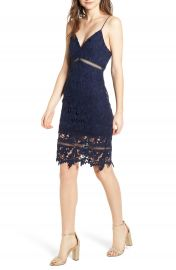 ASTR Lace Bodycon Dress at Nordstrom