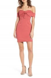 ASTR the Label Corset Body-Con Dress at Nordstrom