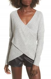 ASTR the Label Wrap Front Sweater at Nordstrom