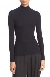 ATM Anthony Thomas Melillo Rib Mock Neck Top at Nordstrom