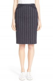 ATM Anthony Thomas Melillo Stripe Pencil Skirt at Nordstrom