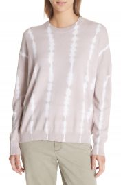 ATM Anthony Thomas Melillo Tie Dye Cotton  amp  Cashmere Sweater at Nordstrom