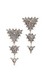 Aaryah Trikona Earrings at Shopbop