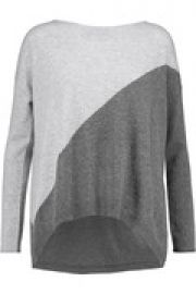 Abbie two-tone wool-blend sweater at The Outnet