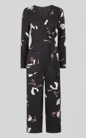 Abella Tie Linen Jumpsuit by Whistles at Whistles