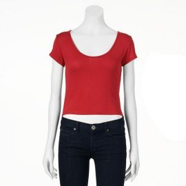 About a Girl Crop Tee at Kohls
