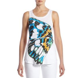 Abstract Butterfly Tank at Lucky Brand
