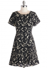 Abstract Interpretation Dress at ModCloth